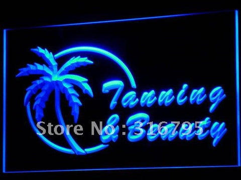 Tanning & Beauty Neon Sign (Light Shop Tan LED)