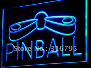 Pinball Game Room Neon Sign (Display Decor LED Light)