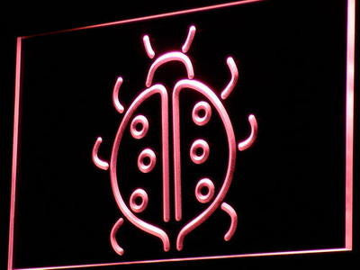 LadyBug Neon Sign (Light Display Home Decor Gift)