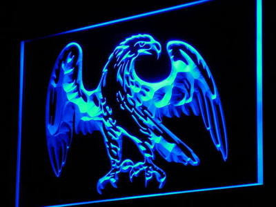 Eagle American Neon Sign (Bar Beer Display Decor Light LED)