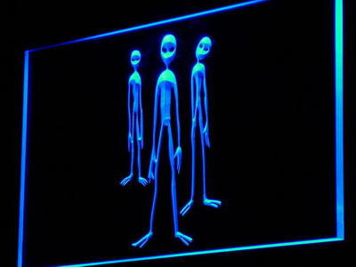 Alien UFO Space Neon Sign (Home Display Gift Light LED)