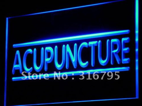 Acupuncture Center Treatment Neon Sign (NR LED Light)