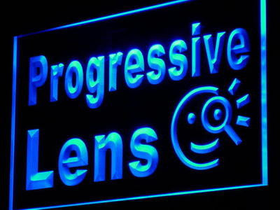 Progressive Lens Neon Sign (Light Optical Shop Decor LED)