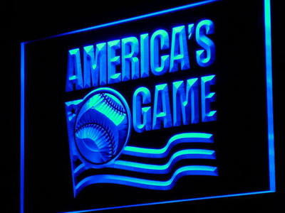 Baseball America's Game Sports Neon Sign (Decor Light LED)