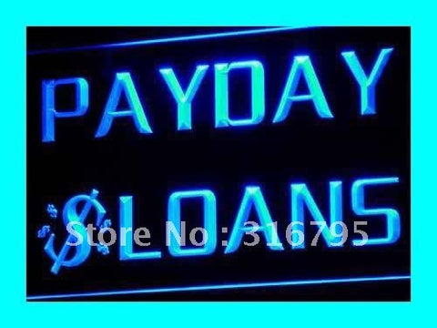 Payday Loans Neon Sign (Enseigne Lumineuse LED Light)