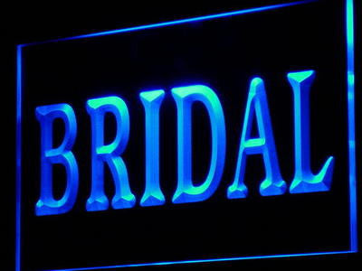 Bridal Shop Neon Sign (Display Services Decor Light LED)