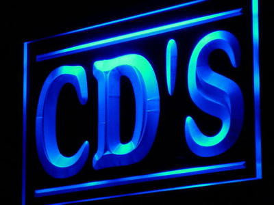 CD's Neon Sign (Shop DVD VCD HD LED Light)
