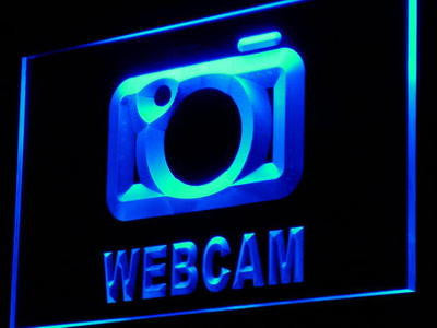 Webcam Neon Sign (Services Internet Cafe Shop LED Light)