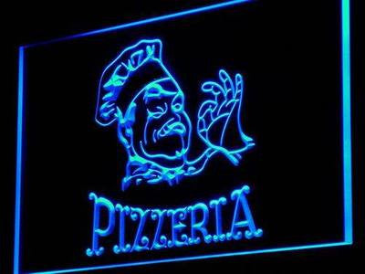 Pizzeria Neon Sign (Cafe Enseigne Lumineuse Decor Light LED)