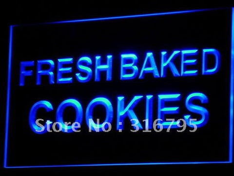 Fresh Baked Cookies Neon Sign (Light Cafe Cake NR LED)