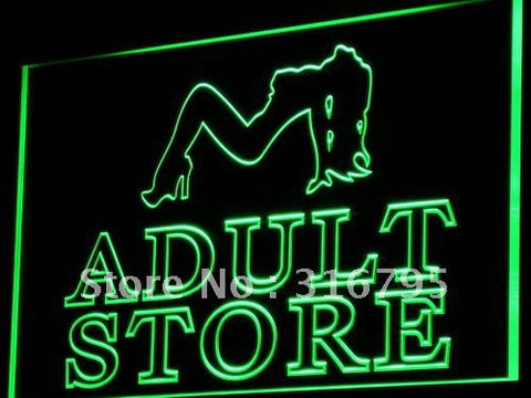 Adult Store Neon Sign (Toys Shop Bar Sex XXX Light LED)