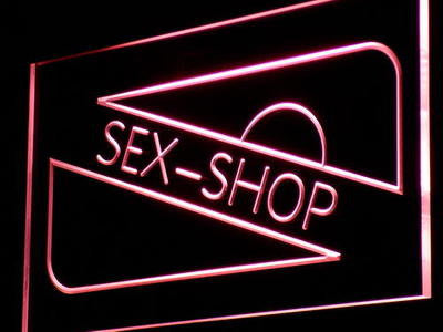 Sex Shop Neon Sign (Toy Bar Sexy Product Light LED)