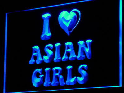 Asian Girls Sex Enseigne Lumineuse Neon Sign (Light LED)