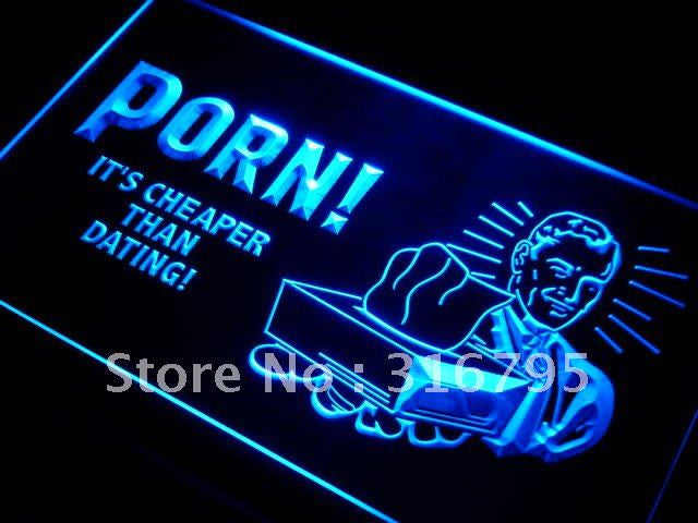 It's Cheap than Dating Sex Neon Sign (LED Light)