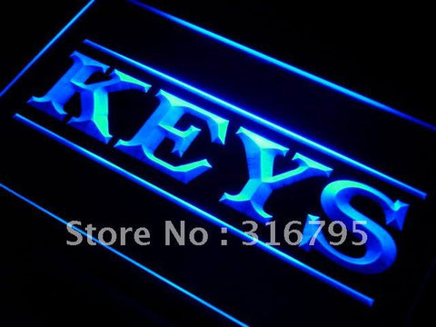 Keys Shop Neon Sign (LED. Light)