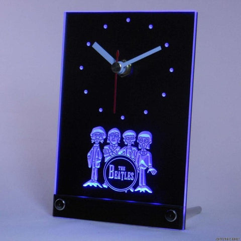 The Beatles Band Table Desk 3D LED Clock