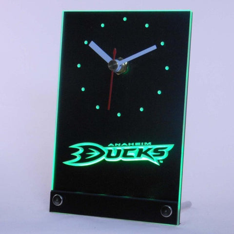 Anaheim mighty Ducks Table Desk 3D LED Clock