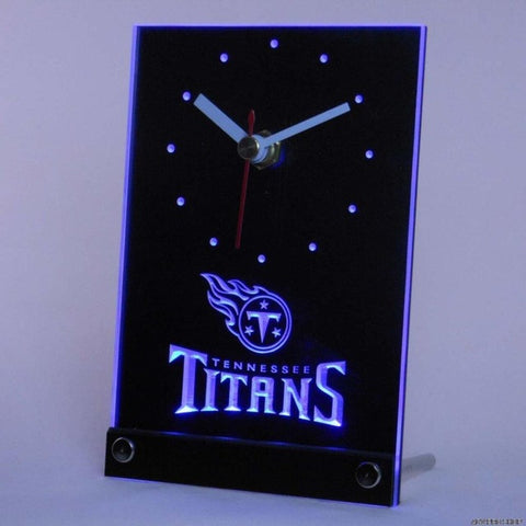Tennessee Titans Table Desk 3D LED Clock