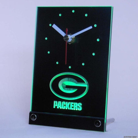 Green Bay Packers Table Desk 3D LED Clock