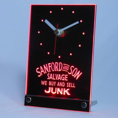 Sanford and Son buy sell Junk Table Desk 3D LED Clock