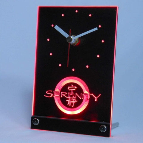 Firefly Serenity Table Desk 3D LED Clock