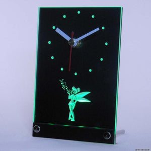 Tinkerbell Table Desk 3D LED Clock