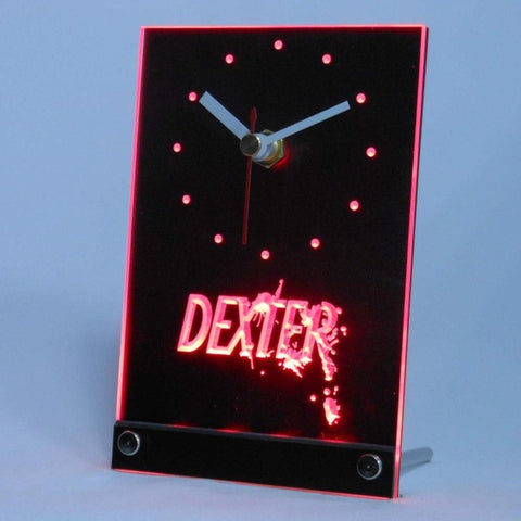 Dexter Morgan Table Desk 3D LED Clock