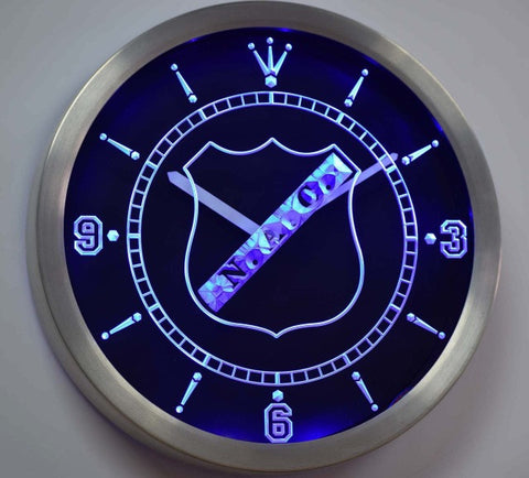 NAC Breda Rat Verlegh Stadium Eredivisie Neon Sign LED Wall Clock