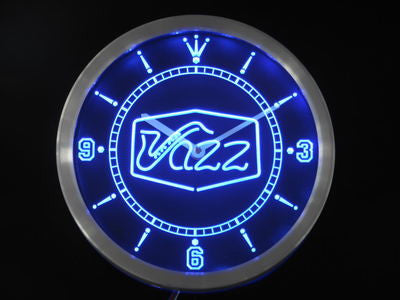 Jazz saxophone Bar Music Live Pub Club Neon Sign LED Wall Clock