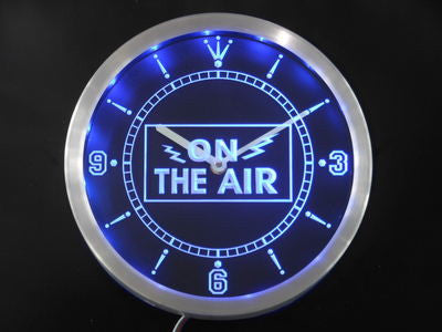 On the Air Neon Sign LED Wall Clock