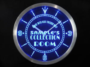 Name Personalized Custom Collection Room Sign Neon Sign LED Clock