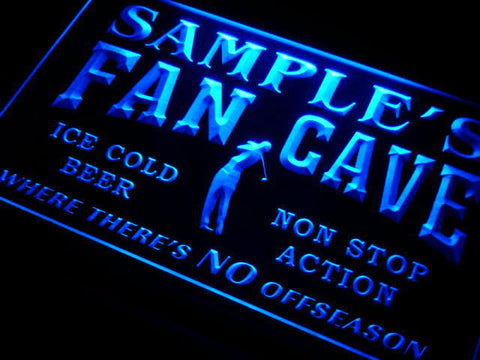 Name Personalized Custom Golf Fan Cave Man Room Bar Beer Neon Light Sign