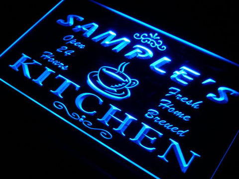 Name Personalized Custom Mom Kitchen Bar Neon Sign