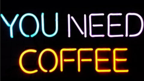 Custom You Need Coffee Glass Neon Light Sign Beer Bar