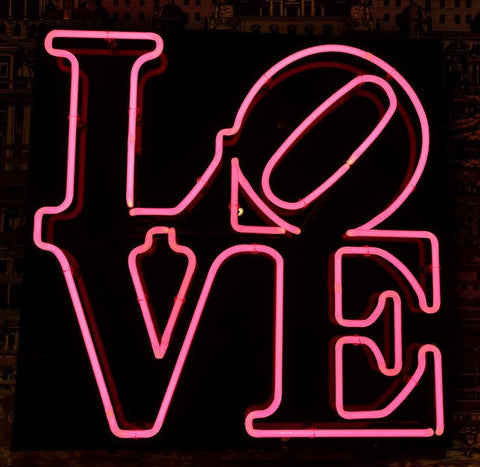 Custom Love Kiss Glass Neon Light Sign Beer Bar