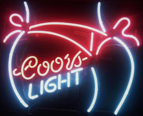 Coors Light  Glass Neon Light Sign