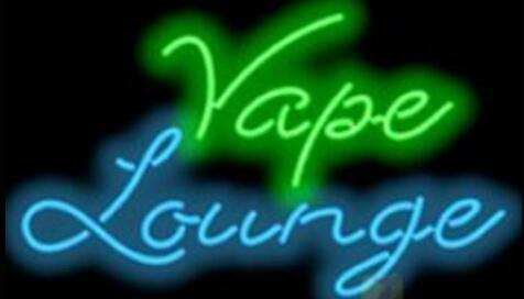 Custom Vape Lounge Glass Neon Light Sign Beer Bar