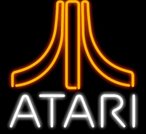 Custom Atari Video Games Glass Neon Light Sign Beer Bar