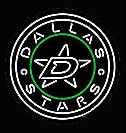 Custom Dallas Stars Beer Bar Pub Lamp Glass Neon Light Sign Beer Bar
