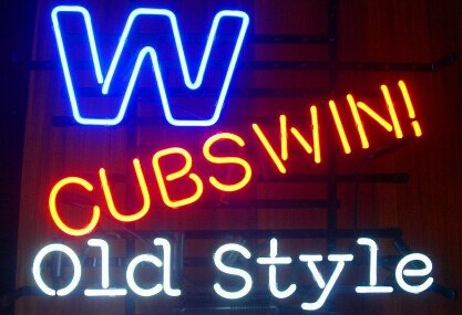 Old Style Glass Neon Light Sign Beer Bar