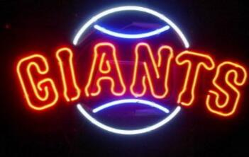Giants Glass Neon Light Sign Beer Bar