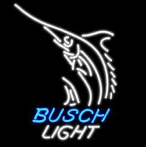 Custom Busch Glass Neon Light Sign Beer Bar
