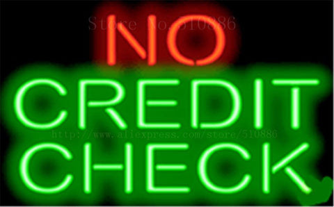 "17*14"" No Credit Check  NEON SIGN REAL GLASS BEER BAR PUB LIGHT SIGNS store display  Restaurant  Shop Advertising Lights"