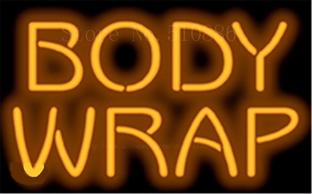 "17*14"" Body Wrap NEON SIGN REAL GLASS BEER BAR PUB LIGHT SIGNS store display Restaurant Shop Beauty business Advertising Lights"
