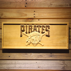 Pittsburgh Pirates 3D Wooden Sign