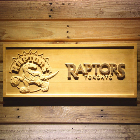 Toronto Raptors 3D Wooden Sign