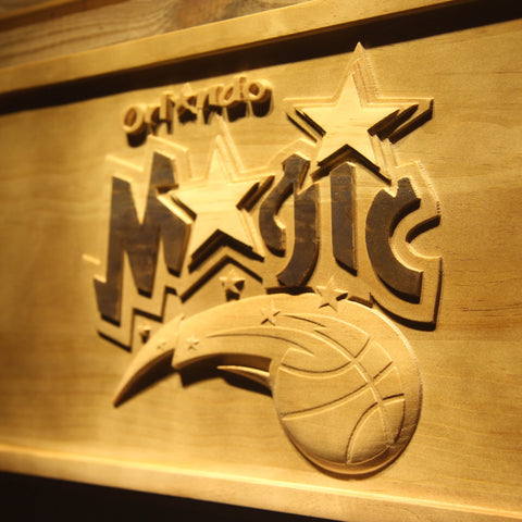 Orlando Magic 3D Wooden Sign