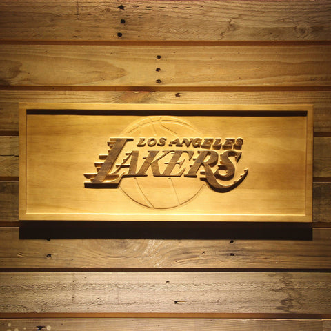 Los Angeles Lakers 3D Wooden Sign