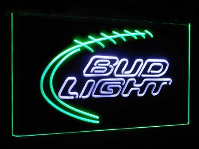 Bud Light Sport Beer Club Bar Decoration Gift Dual Color Led Neon Sign st6-a2004