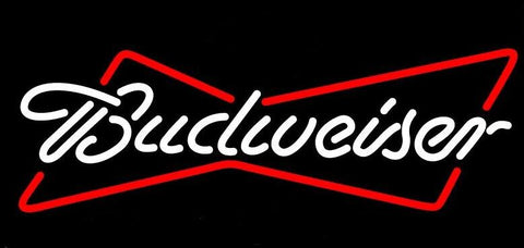 Budweiser Glass Neon Light Sign